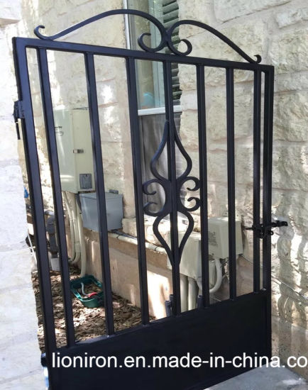 Galvanized Wrought Iron Gate Forged Interior For Garden