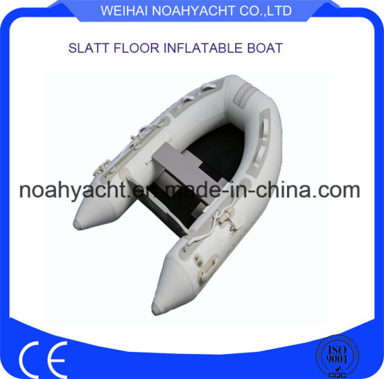Camouflage Inflatable Boat/ Fishing Boat with Slat Floor pictures & photos