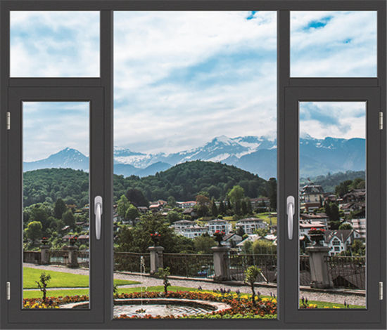 Newest Style Aluminum Swing Gray Window pictures & photos