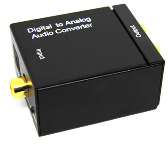 Optical Coaxial Toslink Signal Digital to Analog Audio Converter pictures & photos