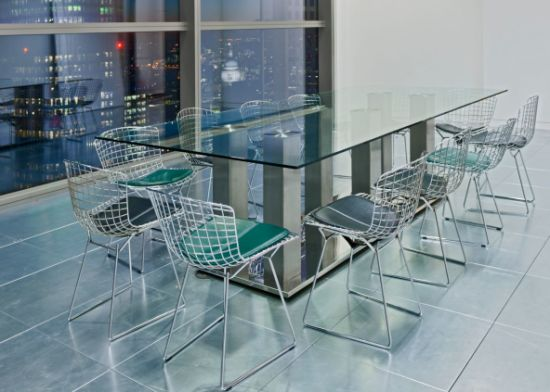 China Tempered Glass Meeting Room Table Top With ASNZS - Glass top conference room table