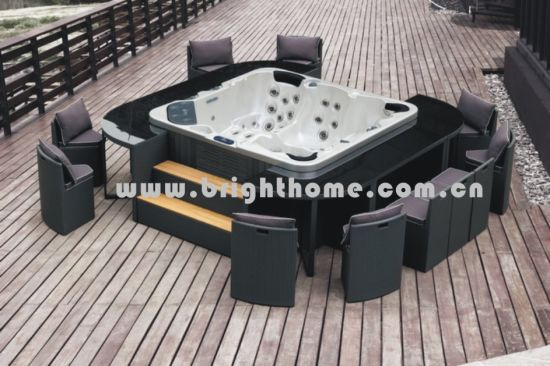 Wicker Outdoor Furniture SPA Set pictures & photos