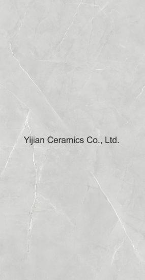 Grey Color Marble Design 600X1200mm Full Body Glazed Polished Porcelain Floor Tile