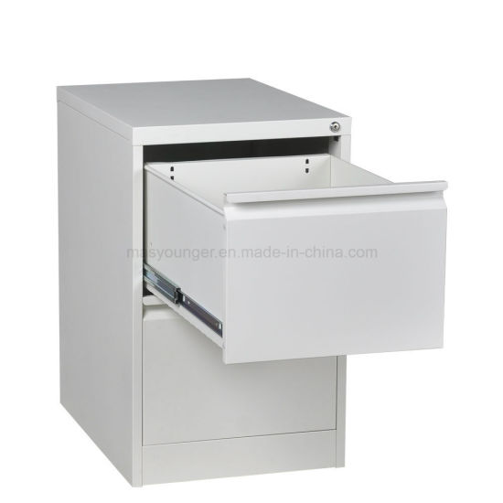 Space Solutions Cheap 2 Drawer Metal File Storage Steel Cabinet With Lock  And Handles