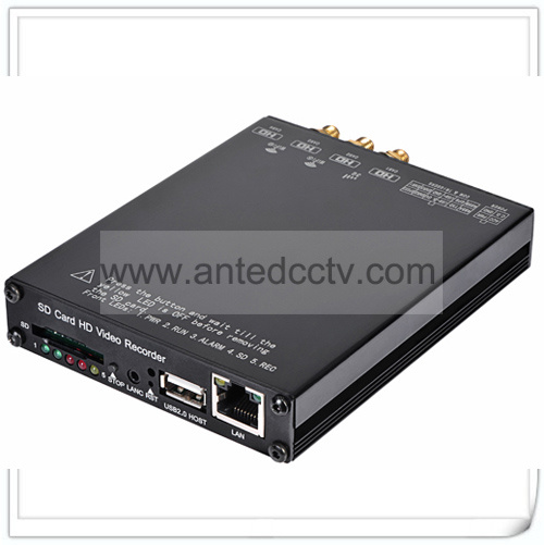 1080P 4 Channel Mobile DVR SD Card Video Recorder with GPS Tracking 3G 4G WiFi pictures & photos