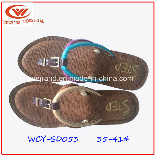 New Design Style Ladies Sandals Shoes for Summer