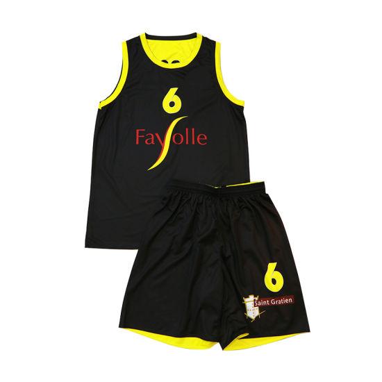 6b6a9ba8fd7 Healong Custom Reversible Sublimation Basketball Uniform for Sale pictures    photos