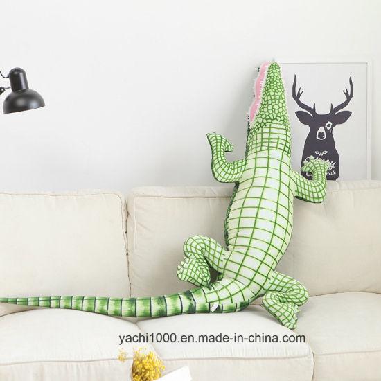 China Plush Animal Toy Stuffed Soft Simulation Crocodile China