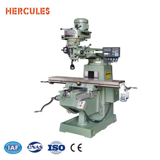 M4 Vertical Turret Type Milling Machine for Metal, Taiwan Spindle, for India Market pictures & photos
