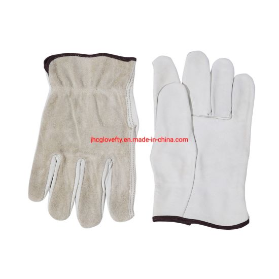Top Cowgrain Palm Split Back Driver Work Glove