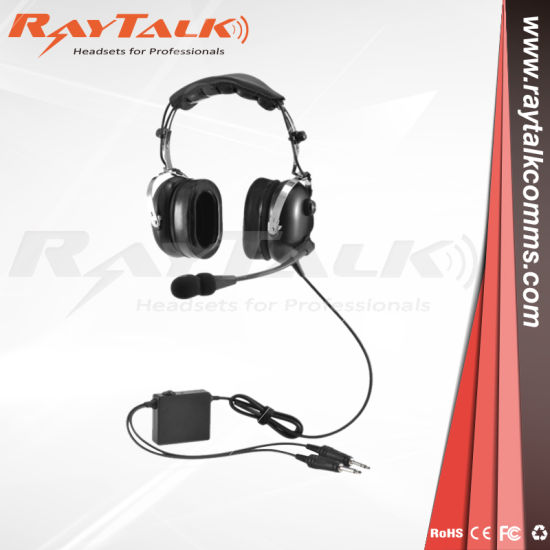 anr aviation headset aircraft pilot headset pictures & photos