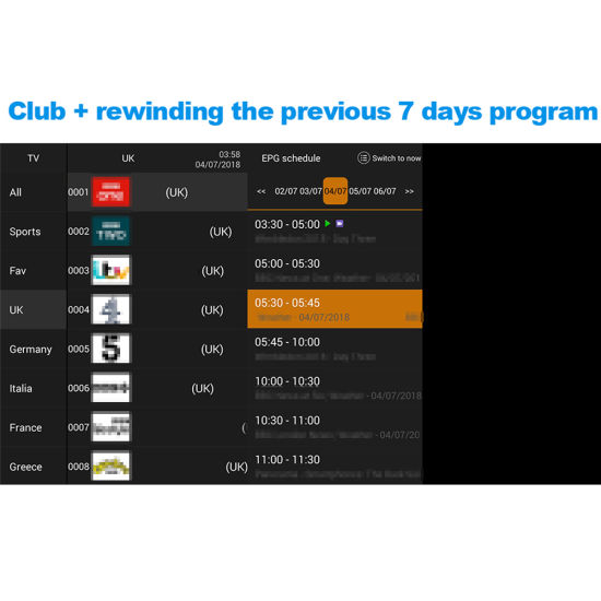 12 Month IPTV Subscription HD Channels Europe UK India Arabic Live TV and  VOD with Different Package