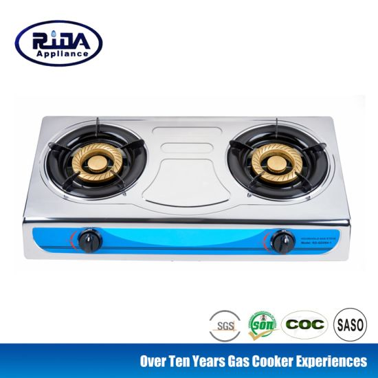 Cast Iron Burner Stainless Steel Gas Cooker