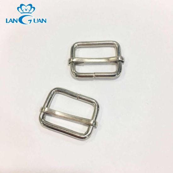 Fashion High Quality Metal Adjustable Rectangular Slider