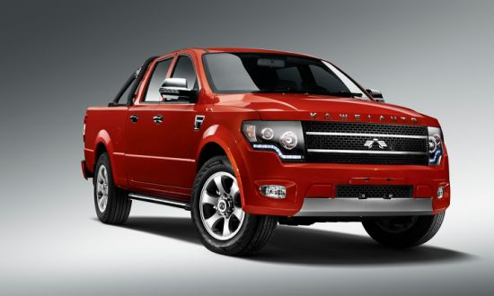 Competitive 4X2 Mitsubishi gasoline Engine Auto transmission Pickup Truck for Sale