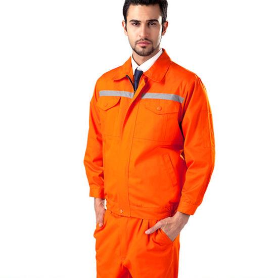 100% Cotton Anti Static Workwear Marine Engineer Uniform