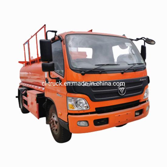 Foton Aumark Factory Price Diesel Petrol Refueling Oil Transport Tanker Truck Load 5000liter 8000L 7000liters 6000liters Gasoline Fuel Tank Truck with Dispenser