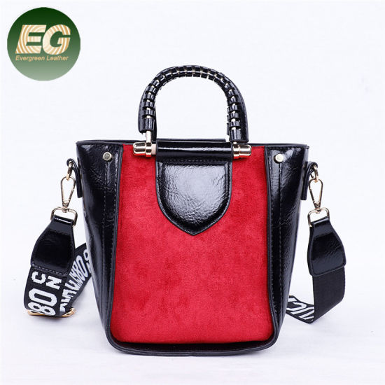 427542d941e4 Lady Fashion Suede PU Leather Shopping Shoulder Bag Wholesale Sh779  pictures   photos
