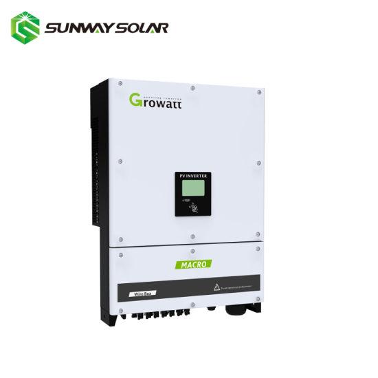 20kw 40kw 50kw Factory 380V Solar Energy Kit on Grid 3phase 20kw 40kw 50kw  Solar Panel Inverter Price