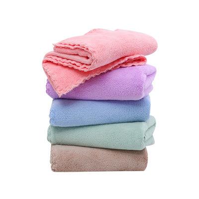 Custom Logo Microfiber Face Hand Towel Dry Fast Microfiber Towel Wholesale