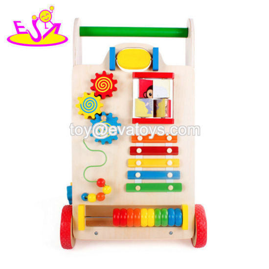 2019 Best Sale Educational Wooden Baby Push Toys for Walking W16e109b