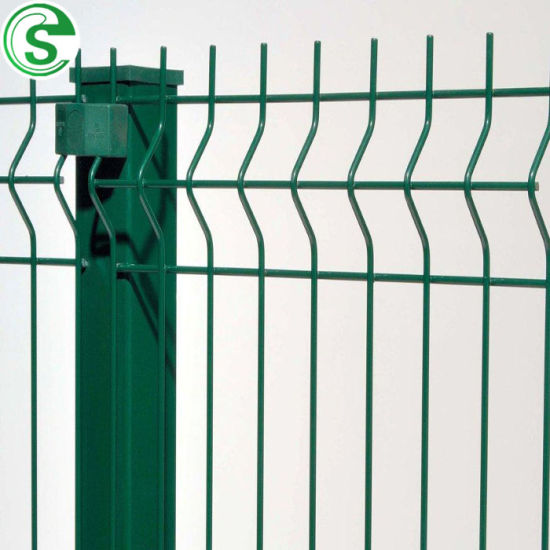 Welded Wire Garden/Factory/Park 3D Curved Fencing