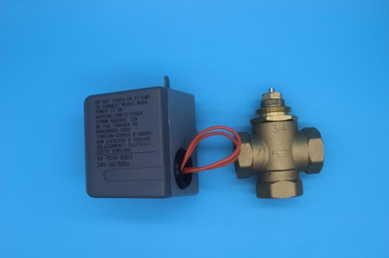 Electric Valve Actuator Erie 2 Port Zone Valve (HTW-V71) pictures & photos
