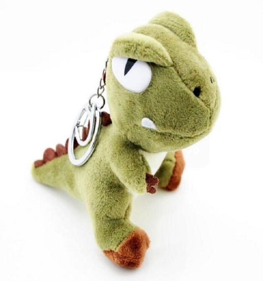 Real Like Stuffed Animal Plush Dinosaur Keychain pictures & photos