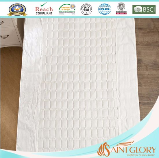 Factory Price Wholesale Down Alternative Mattress Pad pictures & photos