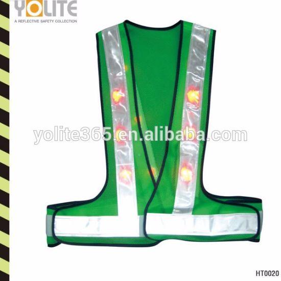 Hot Sales High Quality LED Reflective Vest in Bulk Sale