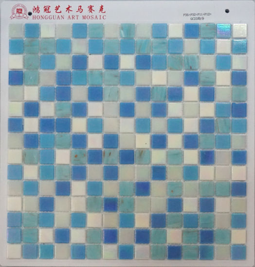 Iridium Glass Mosaic for Swimming Pool pictures & photos