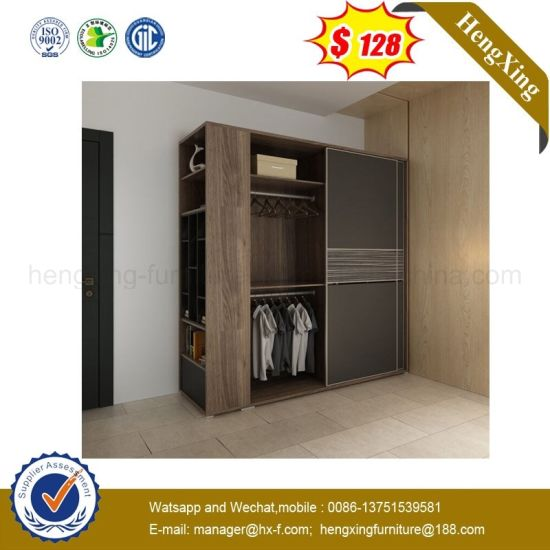 China Factory Living Room Furniture Closet Cabinet Wooden Wardrobe