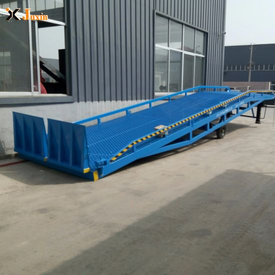 Hydraulic Mobile Used Loading Dock Ramp with Dcqy6-0.8