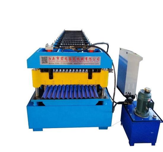 Standing Seam Roll Stock Making Corrugated Machine