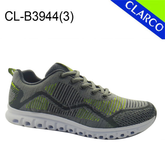 Fashion Flyknit Mesh Men Sports Sneaker Running Shoes pictures & photos