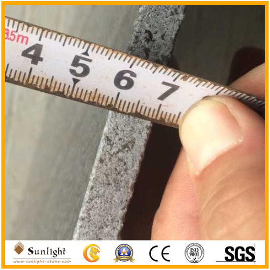 Precise Size G654 Sesame Black Granite Polished Granite Tiles for Wall or Floor pictures & photos