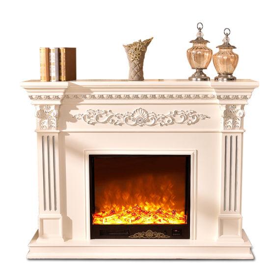 Elecreic Hearth Solid Wood Fireplace Mantel Decor Gsp15 005