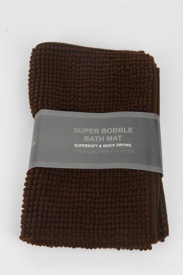 Non-Slip Microfiber Shag Bath Rug