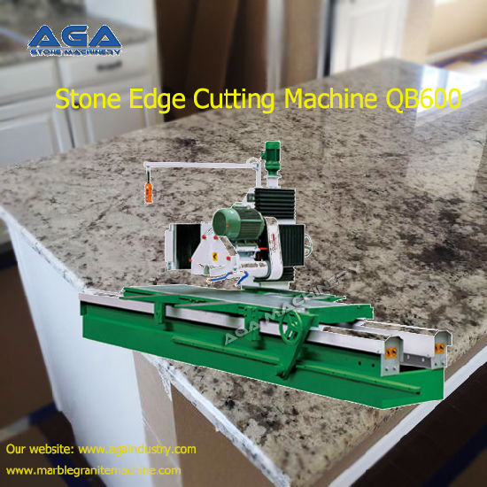 Stone Edge Cutting Machine For Granite Marble Slabs Qb600 Pictures Photos