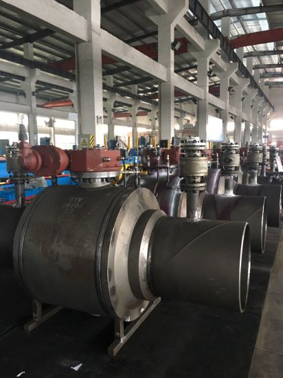 API 6D 3piece Trunnion Mounted Ball Valve pictures & photos