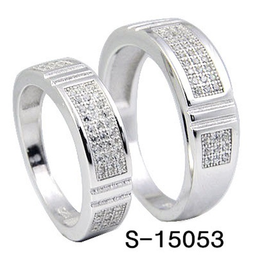 Fashion Jewelry 925 Silver Couple Ring Factory Hotsale pictures & photos