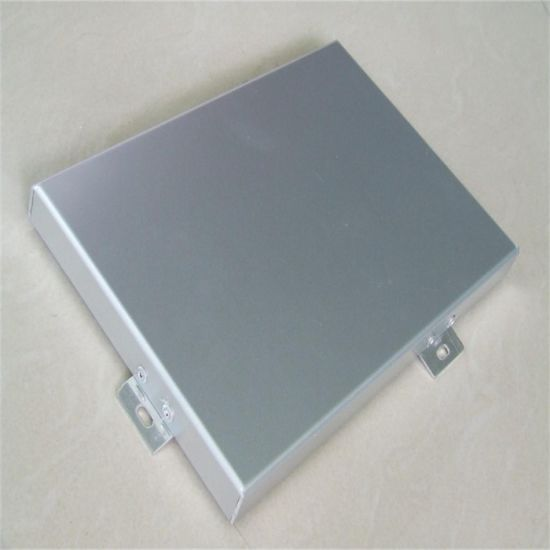 Aluminum Single Panel for Interior and Exterior Curtain Wall System