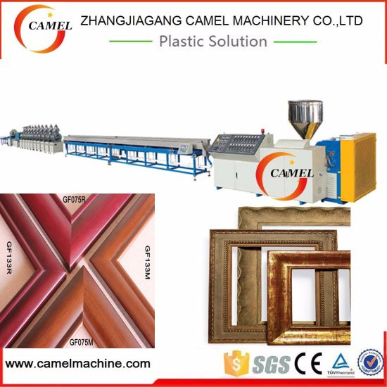 China PS PVC WPC Plastic Foam Photo Frame Making Machine - China ...