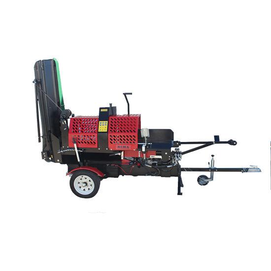 20 Ton Engine Powered Cutting Diameter 38 Cm Ce Approved Log Splitter, Automatic Log Splitter