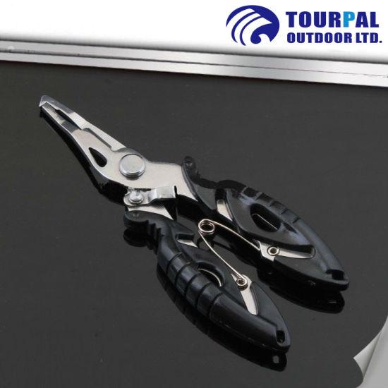 4' Stainless Fishing Line Plier Multifunction Scissor