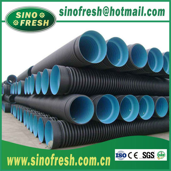 HDPE Plastic Pipes, HDPE Pipe Fittings Manufacturer, HDPE Double Wall  Corrugated Drainage Pipes