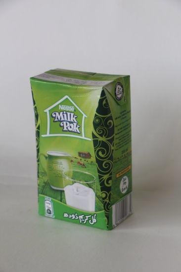 Liquid Packaging Boxes Factory Juice Beverage Paper Board PE Al