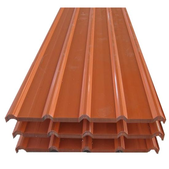 Building Material PPGI PPGL Color Coated Galvanized Corrugated Roofing Sheet