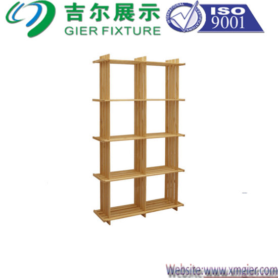 Solidwood Rack Flower Rack Furniture for Display (CYP-R029)
