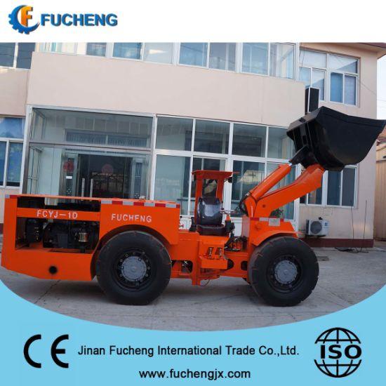 New diesel hydraulic underground wheel loader from China supplier